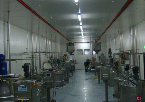 Main Processing Area