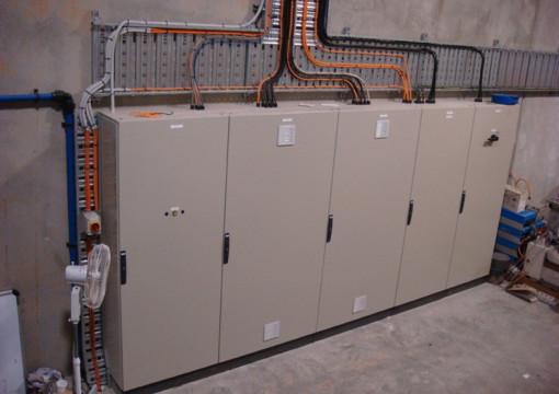 Main Process Control Panel