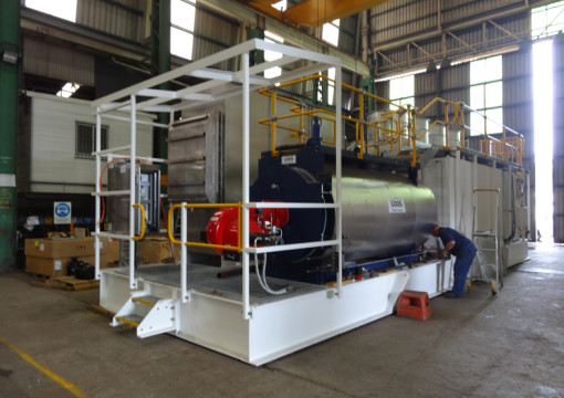 Inert Gas Generator being built